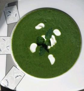 zupa szpinakowa krem