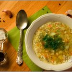 Zupa ogórkowa z kiszonych ogórków